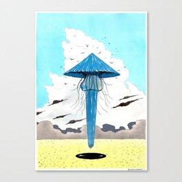 Méduse volante #3 Canvas Print