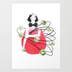 around me 1 Art Print