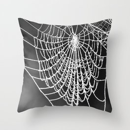 FROZEN WEB Throw Pillow