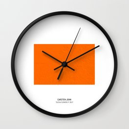 CLICHA FLOWERS V Wall Clock