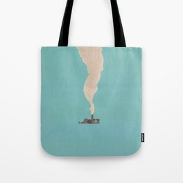 Torn Around — Smoke Tote Bag