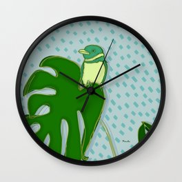 A Rainy Day Wall Clock