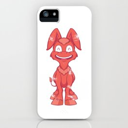 Smile Happy Donkey iPhone Case