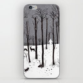 Mister Yeti's Great Escape iPhone Skin