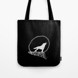 Howling wolf 2 Tote Bag