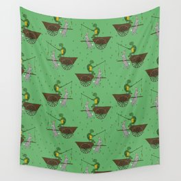 carrot on a stick (tortoise and the hare) Wall Tapestry
