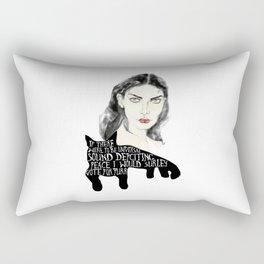 In the world of purrr Rectangular Pillow
