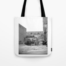 The City 3: Brooklyn In The Back Tote Bag