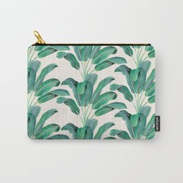 Tropical Glam Banana Leaf I Carry-All Pouch