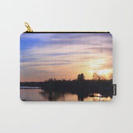 Floodplain at Sunset 4 Carry-All Pouch