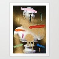 Composition 530 Art Print