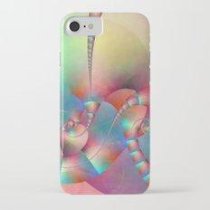 Fractal multicolored Slim Case iPhone 7