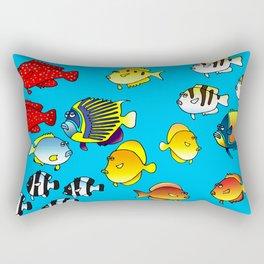 Tropical fish #2 Rectangular Pillow
