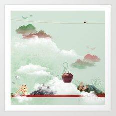 Olimpus Art Print