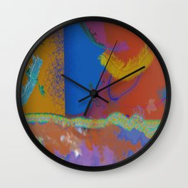 Feather Down by Mickeys Art And Design.Biz Wall Clock