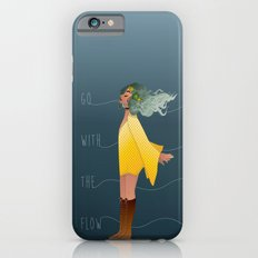 Go with the flow iPhone 6s Slim Case
