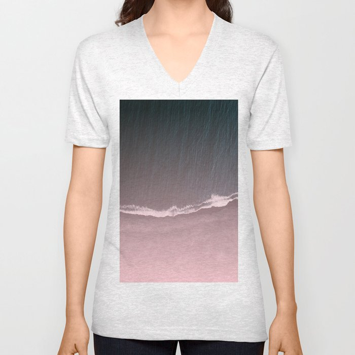 Fade into the sea Unisex V-Neck