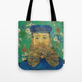 Vincent Van Gogh - Portrait of the Postman Joseph Roulin Tote Bag