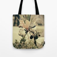 ladybug Tote Bags featuring Ladybug by Truly Juel