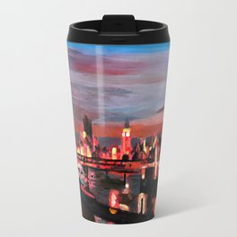 London Eye Night Travel Mug
