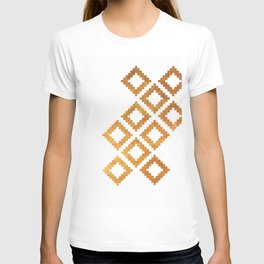 Gold nordic design T-shirt