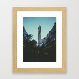 BT Tower, London Framed Art Print