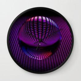 Glass Ball Wall Clock