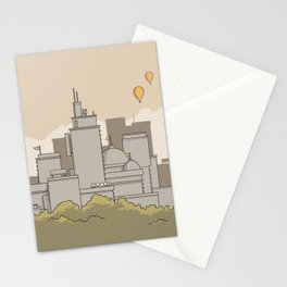 City #3 Stationery Cards