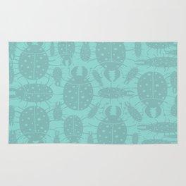 Beetle pattern Rug