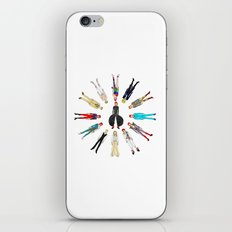 Bowie Circle Group iPhone & iPod Skin