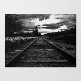 Historic Infrastructure in Disuse and Disrepair Canvas Print