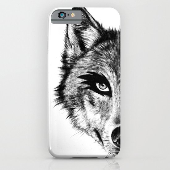 The Wolf Next Door iPhone & iPod Case