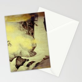 A Golden Winter Stationery Cards