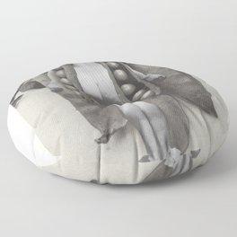 Sugar Pea Floor Pillow