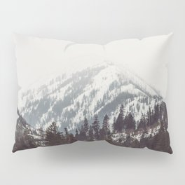 Storm in the Mountain Forest - Nature Photography Pillow Sham