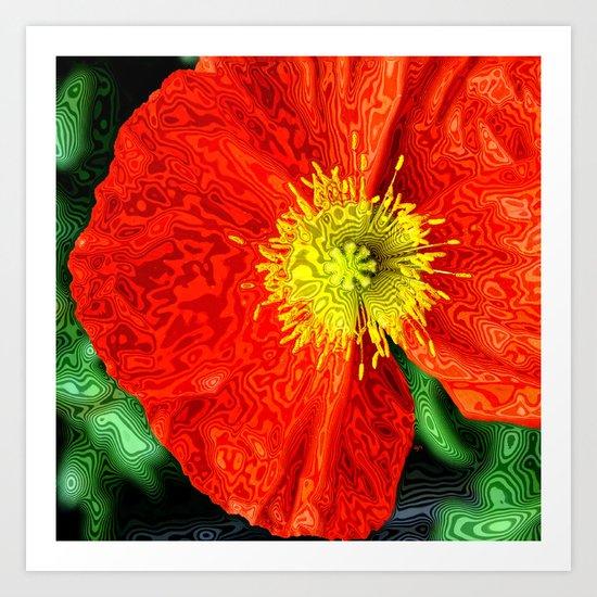 Fleur du bien Art Print