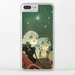 the night before christmas Clear iPhone Case