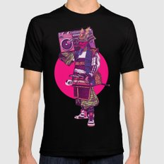 Hip-Hop Samurai Black LARGE Mens Fitted Tee