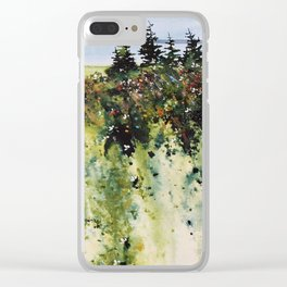 along Sainte Mary's Bay, Nova Scotia Clear iPhone Case