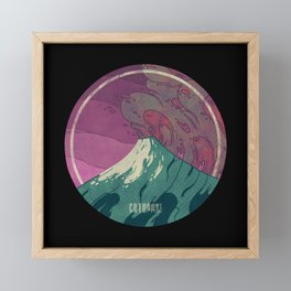 Cotopaxi Framed Mini Art Print
