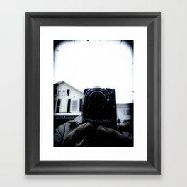The Watcher Framed Art Print