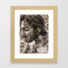 Drunk Framed Art Print