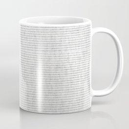 Grey cotton striped texture cloth abstract Coffee Mug