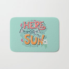 Here Comes The Sun 001 Bath Mat