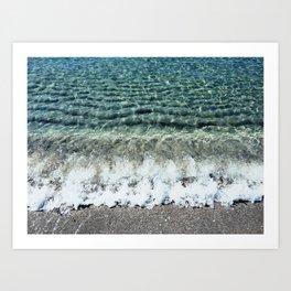 Clear Captiva Waves Art Print