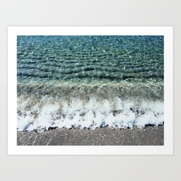 Clear Captiva Waves Art Print