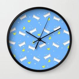 Bathtub Rubber Ducky Wall Clock