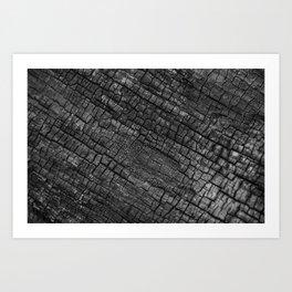 Goth Charred Remains Art Print