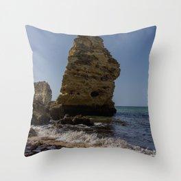 Seaside 01 Throw Pillow