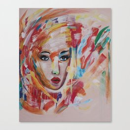 UMA - abstract Canvas Print